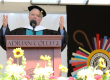 NCAA president encourages Adrian College grads to examine their values